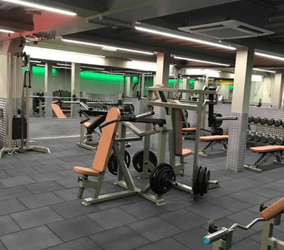 Altered Images New Free Weights Gym featuring Watson Fitness Equipment