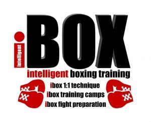 intelligent boxing training logo extended