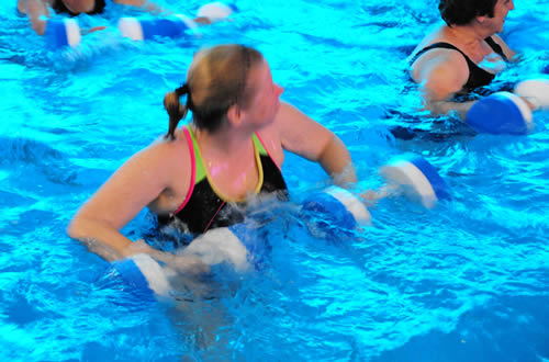 Poolside Fun Aquafit Classes